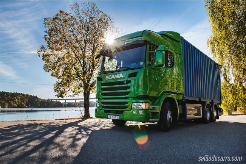 Scania G 320 6x2 Highline Hybrid