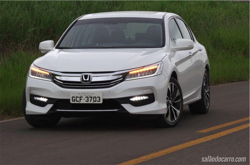 Face-lift do Honda Accord