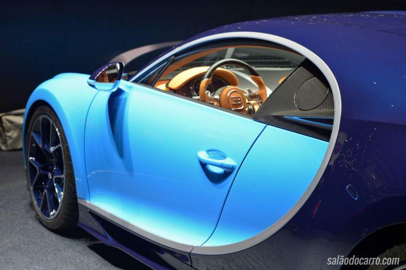 Bugatti Chiron surpreende com motor de 1.521 cv