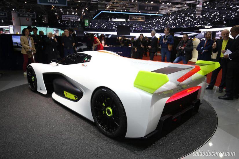 Pininfarina H2 Speed tira o fôlego do público em Genebra