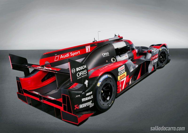 Audi R18 Le Mans 2016 ganha novidades mecânicas