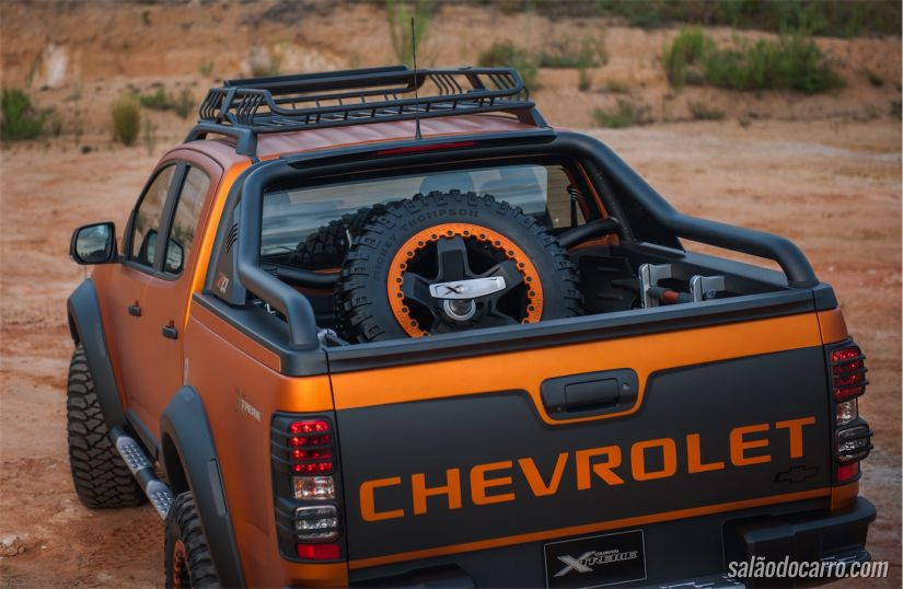 Chevrolet S10 reestilizada na Tailândia