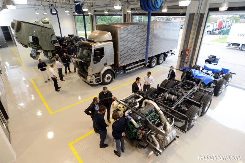 Centro de Desenvolvimento de Competência da Volvo