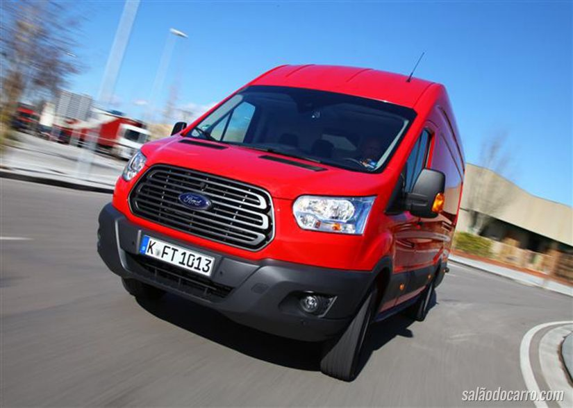 Ford anuncia motor EcoBlue a diesel na Europa