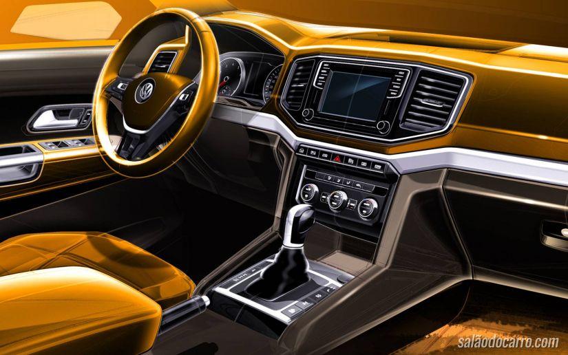 VW Amarok traz novo motor V6 a diesel