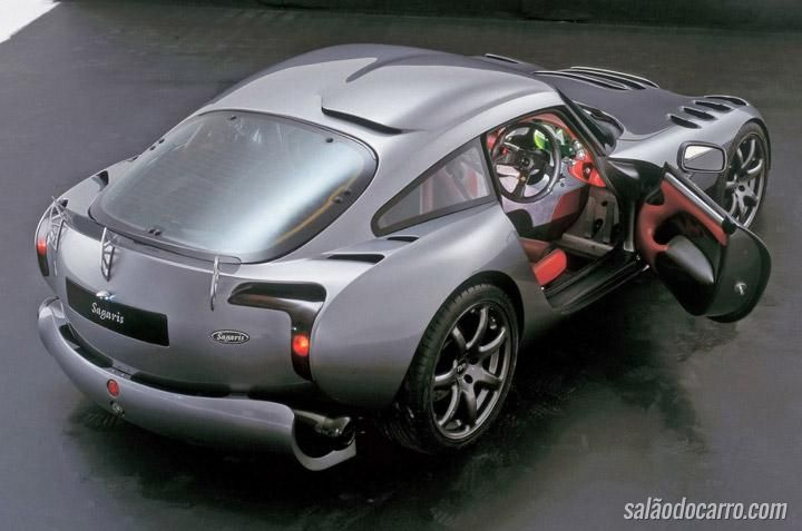 TVR prepara superesportivo com motor V7 Cosworth