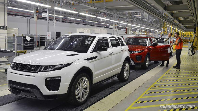 Land Rover inaugura fábrica em Itatiaia, no Rio