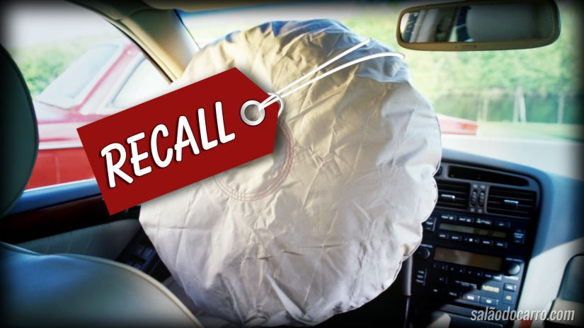 Baixa adesão de recall de airbags preocupa
