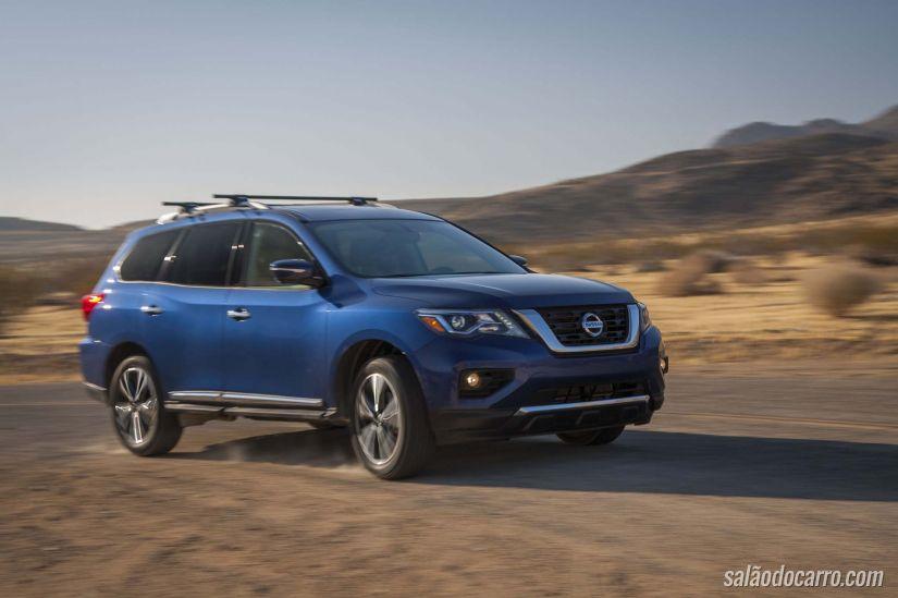 Nissan Pathfinder 2017 inova com visual