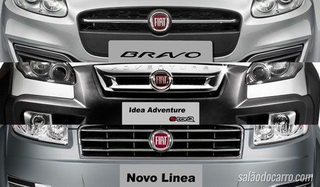 Bravo, Linea e Idea são cortados pela Fiat