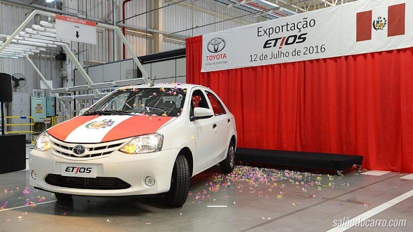 Toyota Etios chegará ao Peru