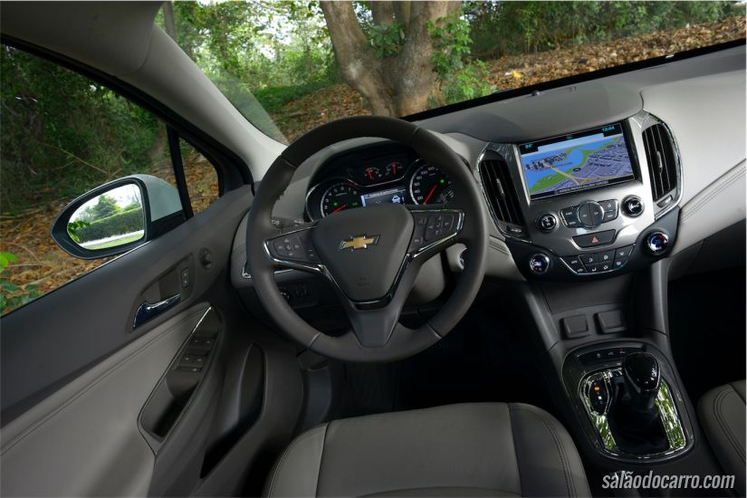 Chevrolet Cruze LTZ - 1.4 Turbo
