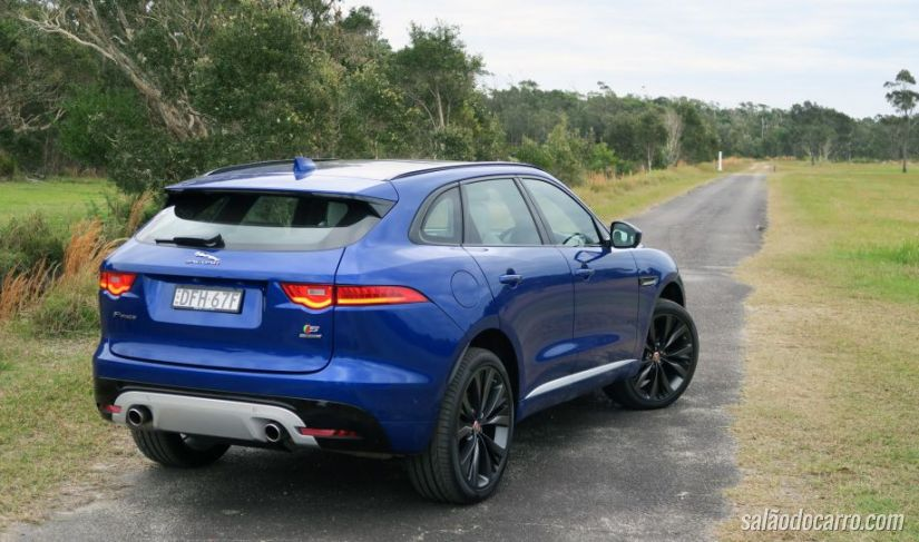 Jaguar F-Pace ganha novo motor na Índia