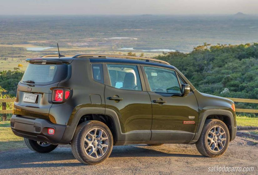 Jeep Renegade ganha série especial de 75 anos