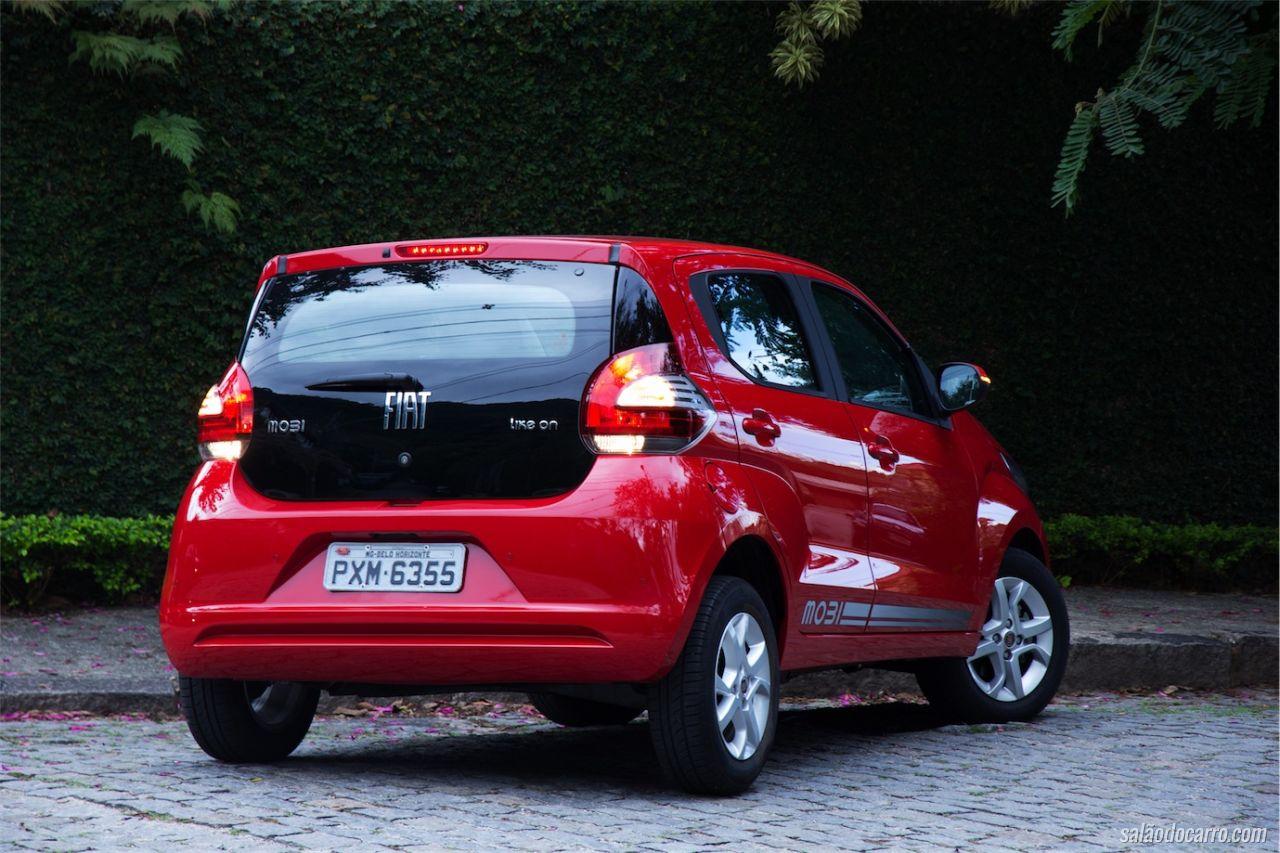 Fiat Mobi Like On - Testes