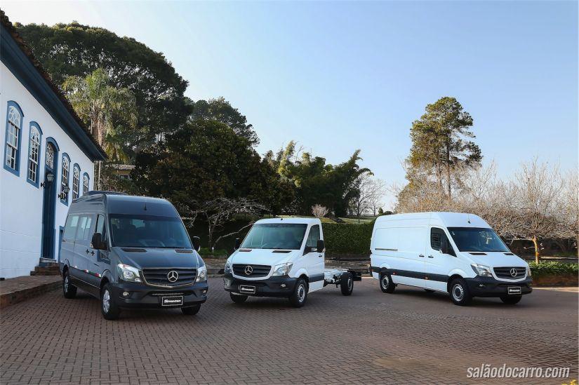 Mercedes-Benz lança nova linha Sprinter