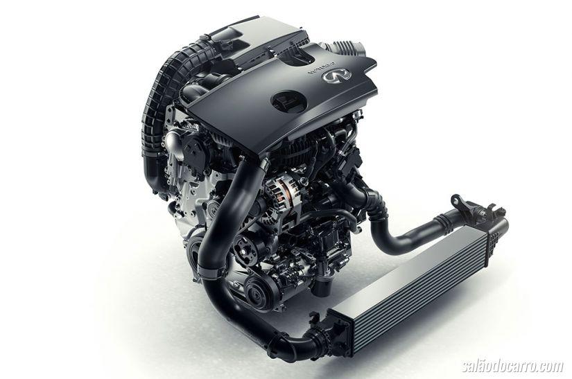 Infiniti revela primeiro motor da história com taxa de compressão