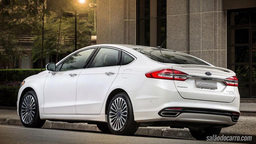 Ford lança novo Fusion 2017