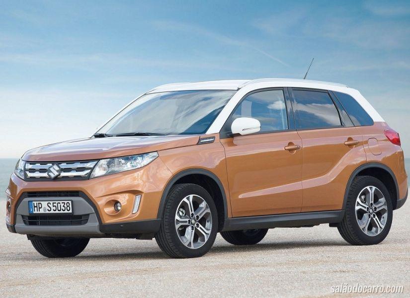 Suzuki Vitara chega em novembro com novos motores