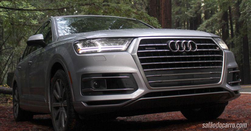 Audi Q7 sofre recall após apresentar problemas nos bancos