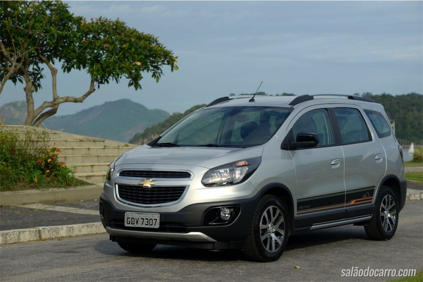 Chevrolet Spin Activ 2017