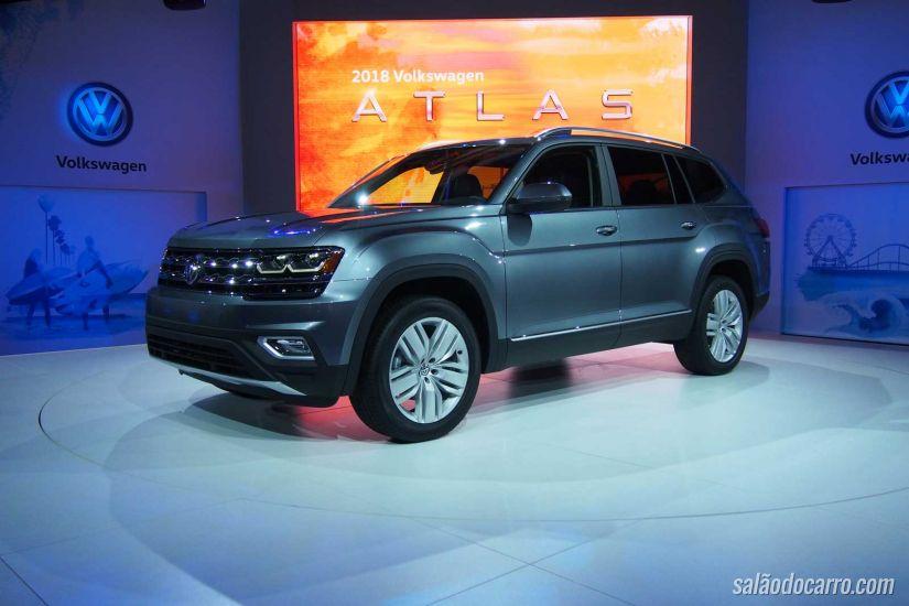Atlas: conheça o novo SUV da Volkswagen