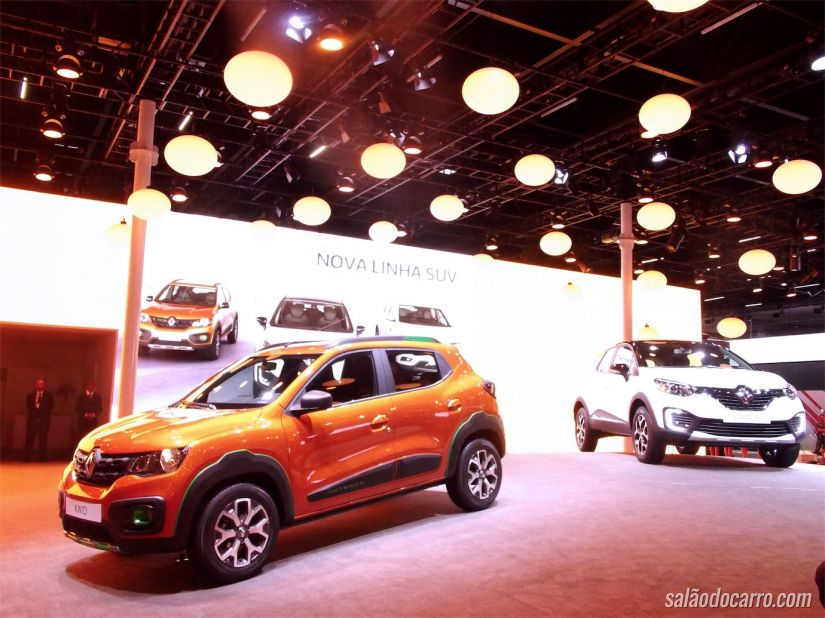 Renault Kwid e Captur