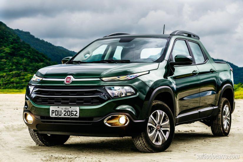 Fiat ocupa as duas primeiras posições no ranking de comerciais leves mais vendidos no Brasil