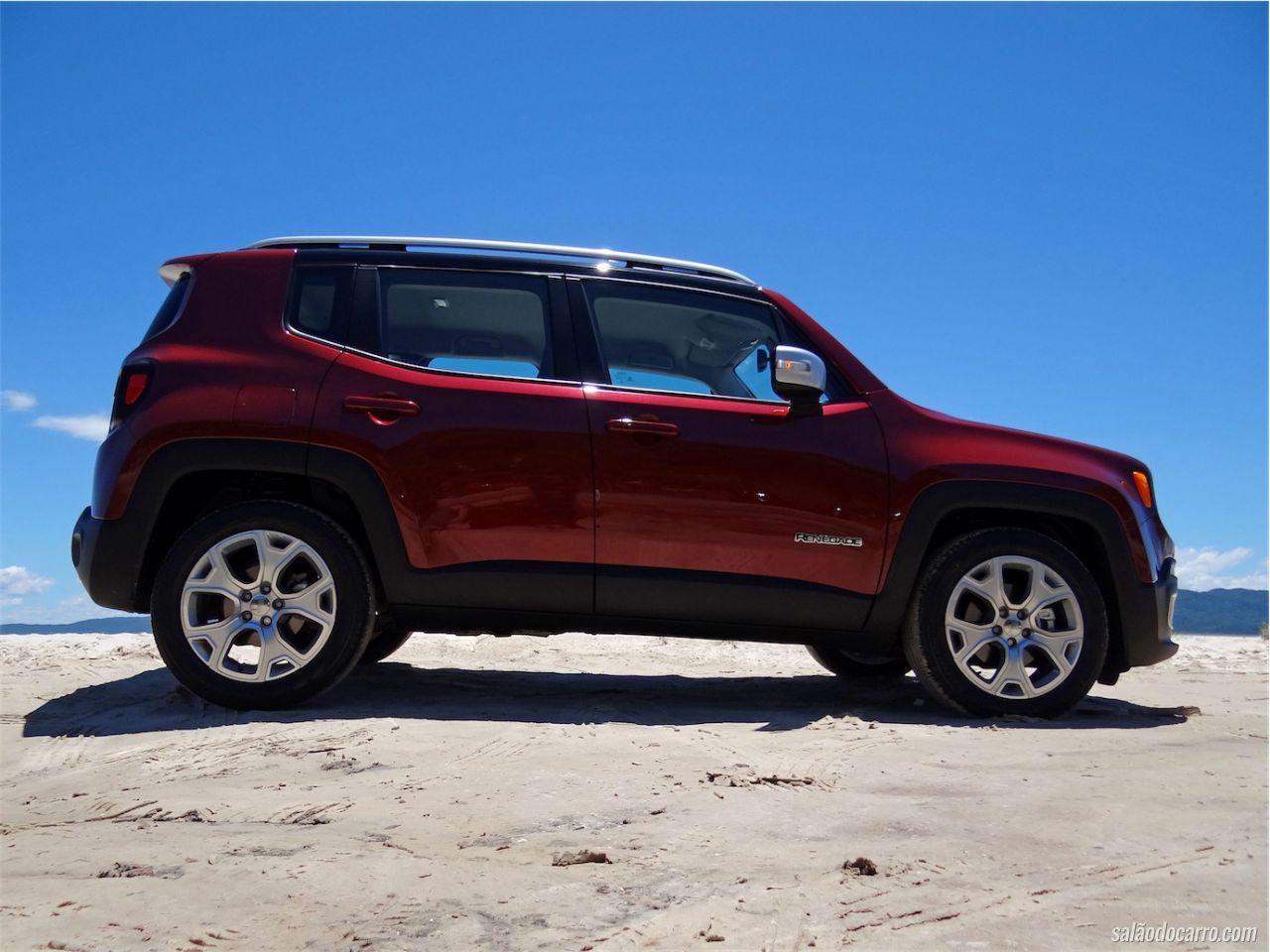 jeep renegade limited testes sal o do carro. Black Bedroom Furniture Sets. Home Design Ideas