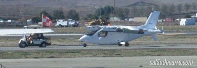 Carro voador de Larry Page pode ter sido flagrado