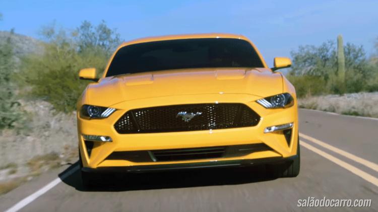Novo Ford Mustang chegará ao mercado em 2018