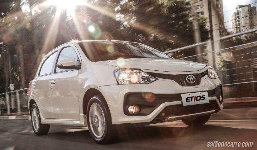 Toyota Etios 2018 chega ao mercado com alterações visuais - Foto 4