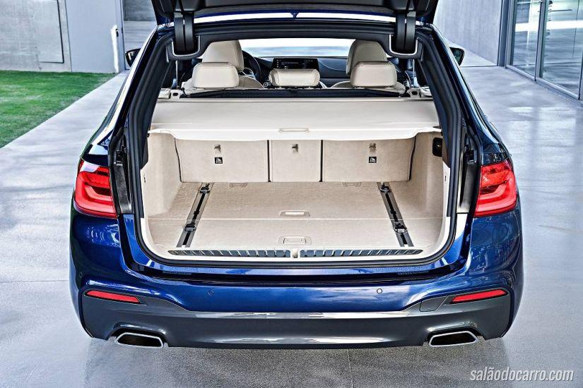 Nova BMW Série 5 Touring acelera de 0 a 100 km/h em 5,1 segundos