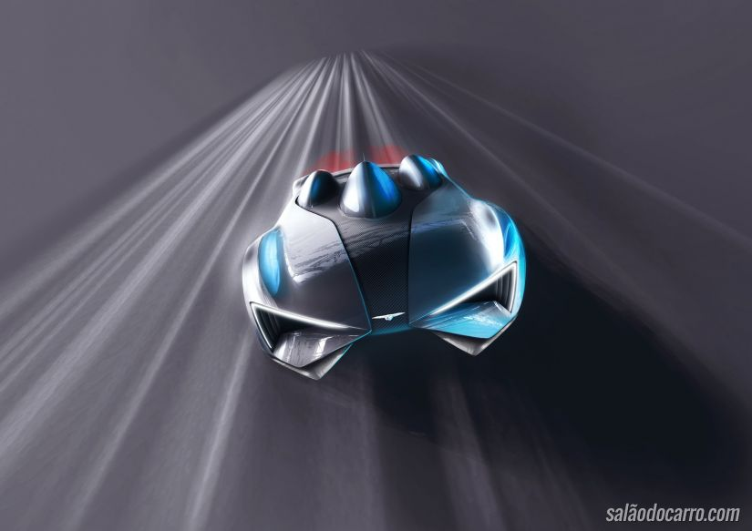Conheça o supercarro elétrico inspirado em aeronaves