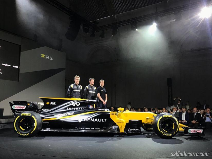 Renault apresenta carro da F1 2017