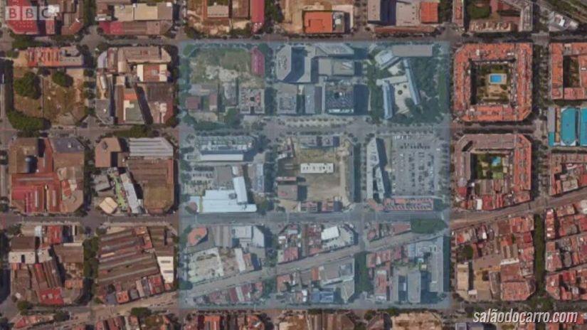 Barcelona quer reduzir carros nas ruas e reduzir poluição