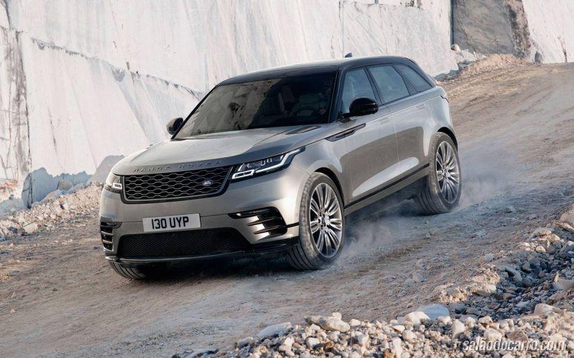 Land Rover apresenta novo SUV Velar - Foto 1