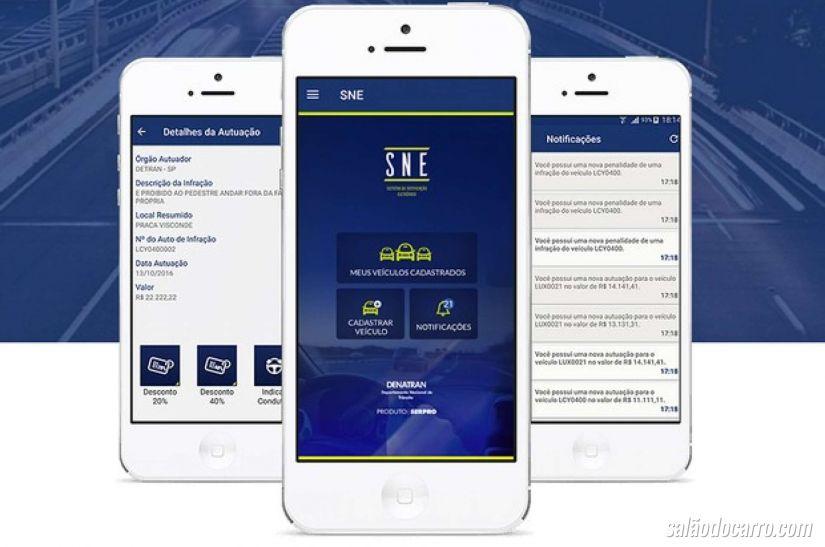 Aplicativo promete oferecer descontos em multas