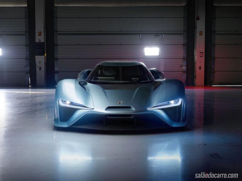 NextEV Nio Eve apresenta nova proposta de elétrico autônomo