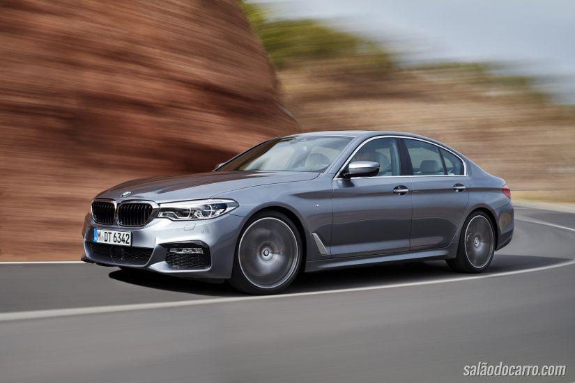 Revelados os preços da nova geração do BMW Série 5 no Brasil
