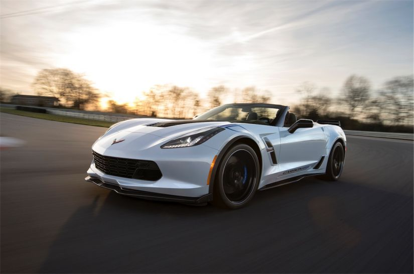 Chevrolet Corvette Grand Sport Carbon 65 Edition Convertible