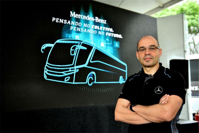 Walter Barbosa, diretor de Vendas e Marketing de Ônibus da Mercedes-Benz do Brasil