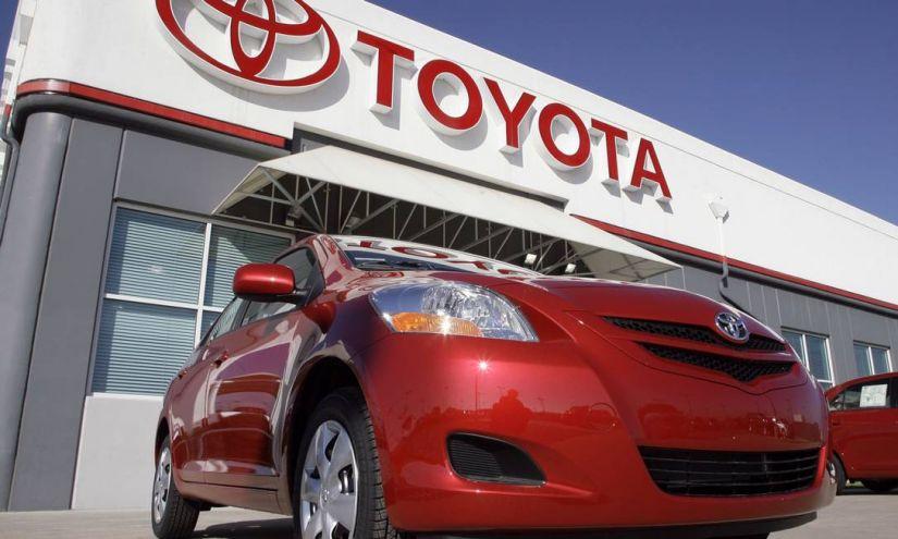 Toyota registra queda no lucro líquido