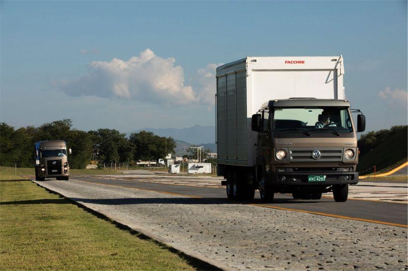 Campo de provas para caminhões e ônibus MAN/Volkswagen