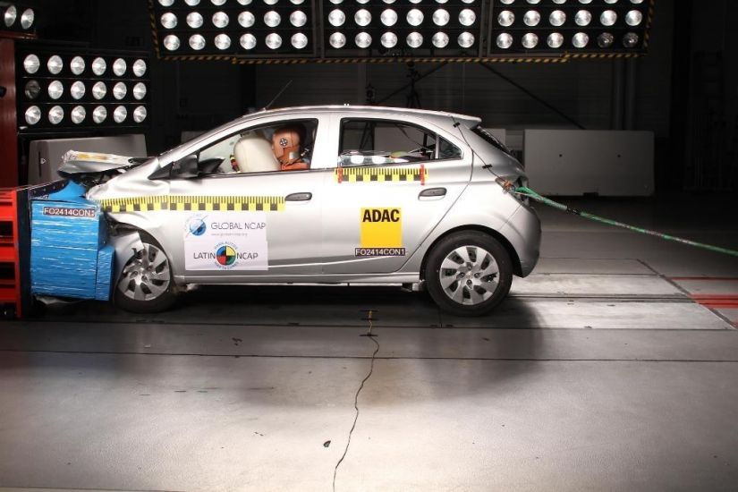 Crash Test do Chevrolet Onix
