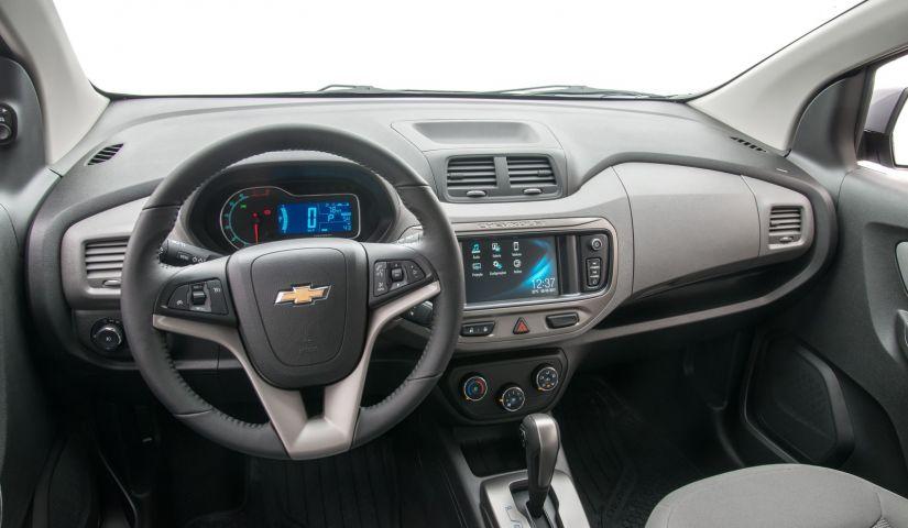 Chevrolet Spin 2018 recebe atualização