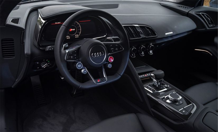 Audi R8 Coupé V10 plus