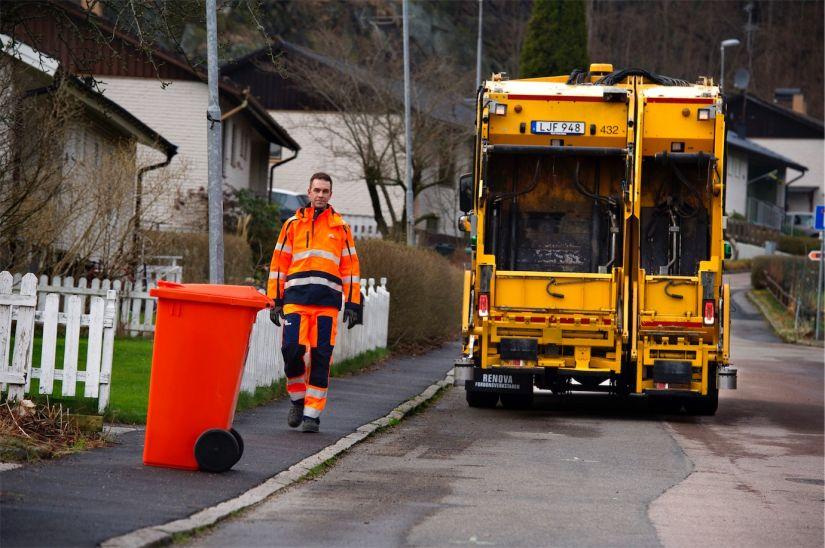 Caminhão de lixo autônomo da Volvo