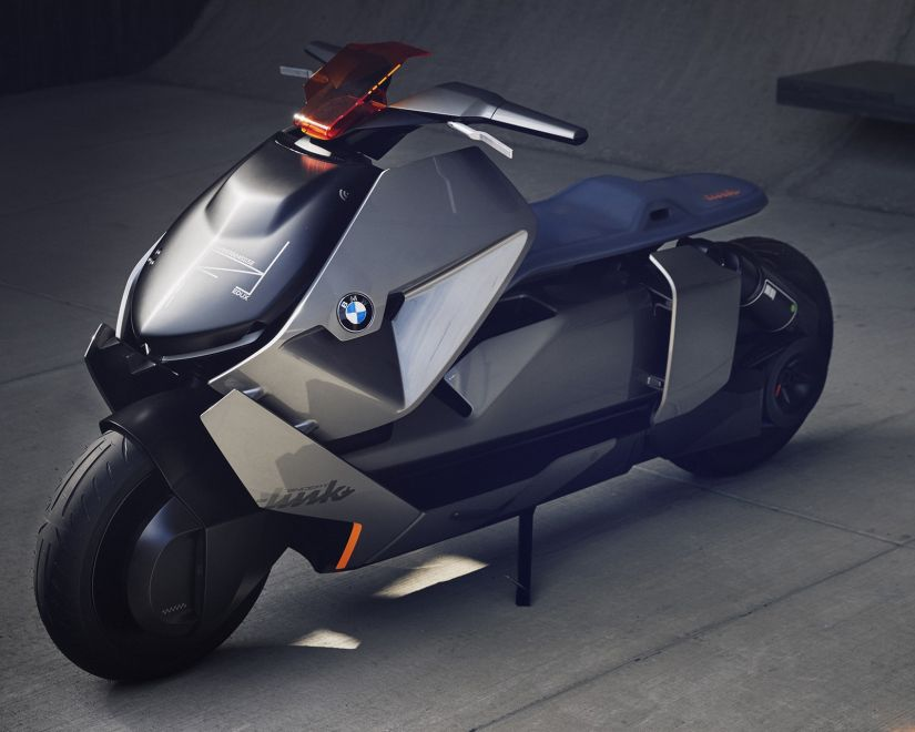 BMW apresenta protótipo de moto do futuro