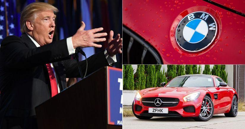 Trump ameaça parar de importar carros da Alemanha